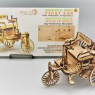 First Car - WOODTRICK 3D Mechanical Wooden Model to build