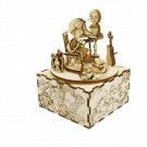 Once Upon a Time - PINOCCHIO 3D Mechanical Wooden Model & Chiming Box