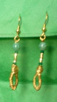 Gold-Wrapped Emeralds