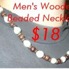 Wooden Beads for Men