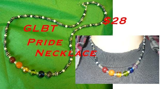 Gay Pride Necklace