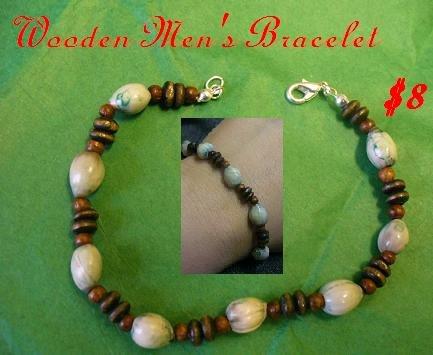 Wooden Men's Bracelet