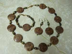 Brown Round Set