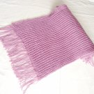 Orchid Pink Handmade Knit Shawl / Wrap/ Scarf *FREE SHIPPING*