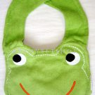 Frog Face Bib, New, One Size