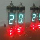 VFD IV-6 Tubes nixie clock With red backlight Nixie Era