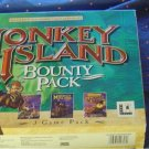 MONKEY ISLAND BOUNTY PACK [MONKEY ISLAND 1+2+3 ] + ESCAPE FROM MONKEY ISLAND