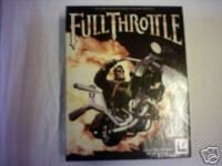 FULL THROTTLE RARE BIG BOX APPLE MACINTOSH VERSION WITH MINI GUIDE