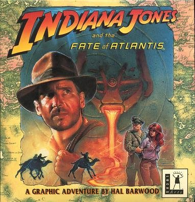 INDIANA JONES AND THE FATE OF ATLANTIS :  ULTRA RARE ORIGINAL BIG BOX VERSION