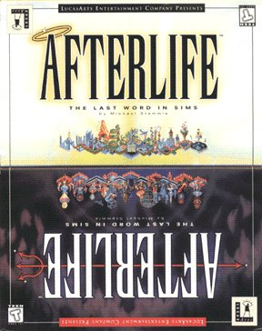 AFTERLIFE : LUCASARTS CLASSIC BIG BOX RELEASE SEALED
