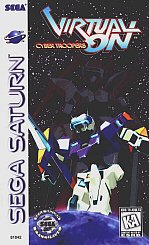 Virtual On: Cyber Troopers - Sega Saturn