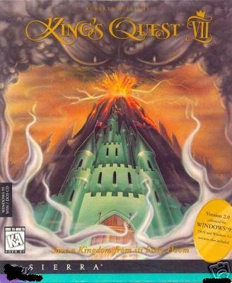 KINGS QUEST VII FULL BIG BOX + KINGS QUEST VI