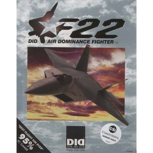 F 22 AIR DOMINANCE FIGHTER + 194 PG WAP JOURNAL