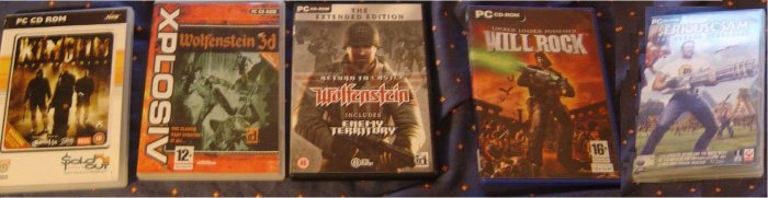 Wolfenstein 3d+Spear of Destiny+RTC Wolfenst Ext+3 MORE