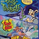 SAM AND MAX + DAY OF THE TENTACLE + MANIAC MANSION