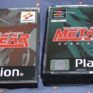 METAL GEAR SOLID  + SPECIAL MISSIONS PSONE ORIGINALS RARE