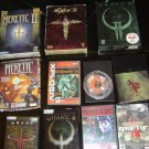 WOLFENSTEIN+SPEAR OF DESTINY+RETURN TO CW+QUAKE3+4+DOOM3+HERETIC2+HEXEN2:14GAMES