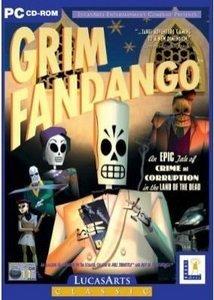 Grim Fandango for Windows RARE CLASSIC