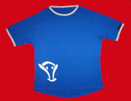 STOCK#12 [XL] BLUE VOODOO T-SHIRT SHORT SLEEVE