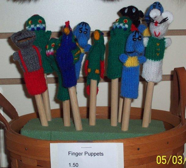 Kids Finger puppets
