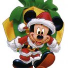 Mickey Mouse Christmas Return Address Laels