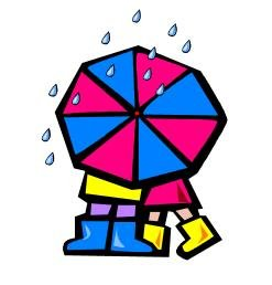 Couple Under Umbrella Return Address Labels