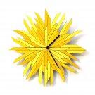 Haystack - organic wall clock made of wood