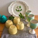 Vintage 22K Gold American Limoges Magnolia Serving Platter Trillium Collection