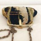 Vintage Mod Art Deco Carpet Handbag Purse