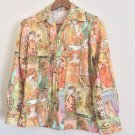 Vintage Goddess Butterfly Collar Blouse