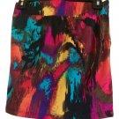 Tye Dye. Body Con Midi Micro Mini Skirt
