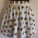 Vintage Micro Mini Junk Food Skirt Size Medium Streetwear Retro Harajuku Popart