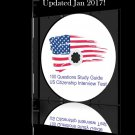 2017 Latest Audio CD Study Guide for the US Citizenship Test in English PASS