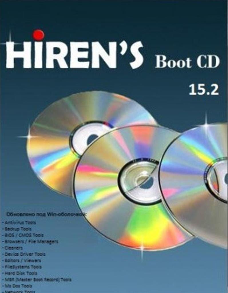 Hiren's Boot CD PC Repair Scan Boot Disc Virus Malware