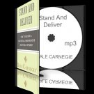 Stand and Deliver:The Dale Carnegie Method to Public Speaking CD mp3 + BONUS