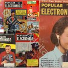 Popular Electronics Magazines Poptronics LARGEST Collection 587 PDF Magazine DVD