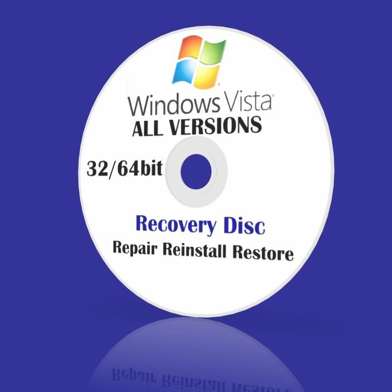 windows vista repair without disk