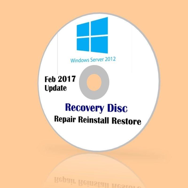 Microsoft Windows Server 2012 R2 VL 2017 Feb Update Recovery