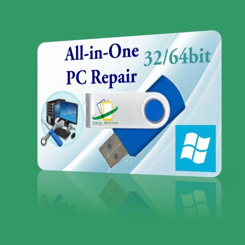 Windows XP Vista 7 8 10 Boot PC Repair Diagnose Disk Toshiba
