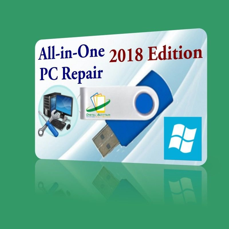 2019 Boot PC Repair Windows XP Vista 7 8 10 Diagnose Disk Dell HP
