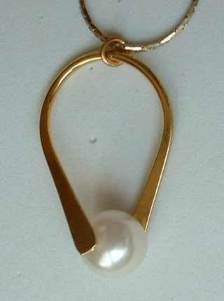 Faux Pearl 18-inch Neckace Post Earrings SET Wedding Jewelry