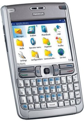 Nokie E61 Symbian PDA Phone, QWERTY Keyboard E 61 Used