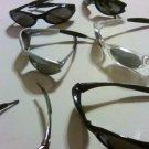One dozen pair of sunglasses. UV protection. Various colors per dozen.