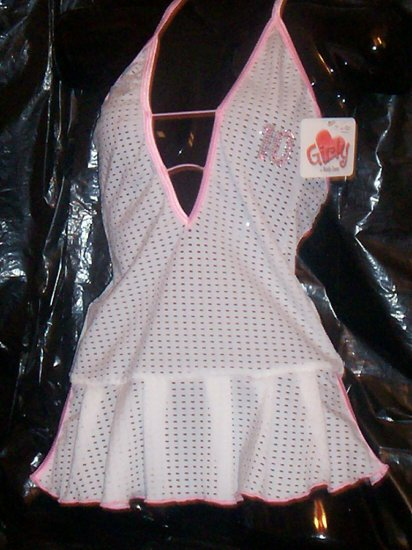 Pink and white Jersey Lingerie