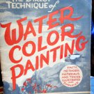 Direct Technique of Water Color Painting by Charles X. Carlson 1942