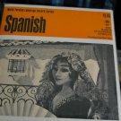 SPANISH Language set- 33 1/3 RPM - Record Study Series c.1965