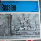 RUSSIAN Language set- 33 1/3 RPM - Record Study Series c.1965