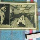 LEW TENDLER & MAIN DINING ROOM OF HIS TAVERN -circa 1940-UNUSED