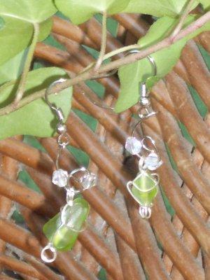 Green drop stone
