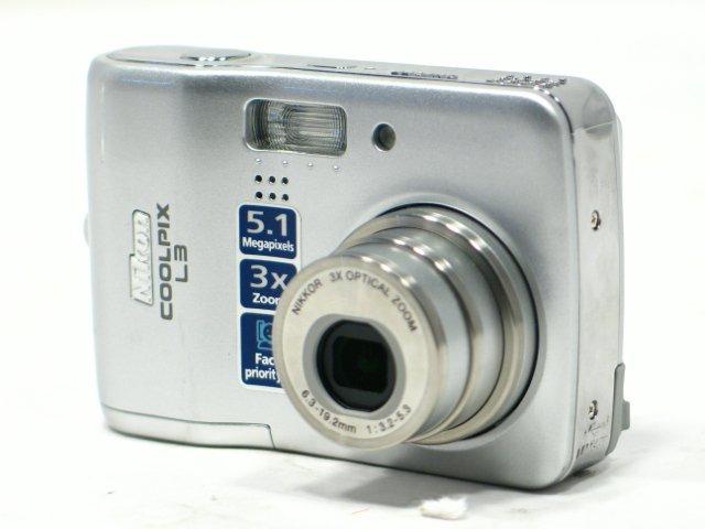 Sold Out - Nikon Coolpix L3 5.1MP Slim Digital Camera